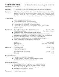 Warehouse Resume Templates Warehouse Worker Resume Resume Templates