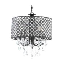 fashionable black drum chandelier for home lighting decor hole black drum chandelier with crystal also