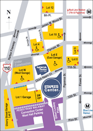 Staples Center Parking Pricing Information Los Angeles