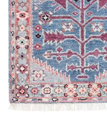 gray and pink antique persian rug