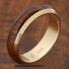hawaiian wedding rings for men wooden wedding bands mens unique wedding ring packages awesome wood of
