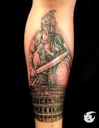 Roman Gladiator Tattoo By Badder Ink