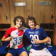 Futbalový sen - David Luiz a Alex Král v šatni The Blues....