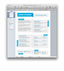 Modern Fold Resume Template For Pages Template Transparent Png