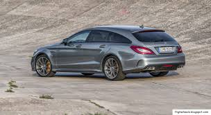 High Wheels: 2015 Mercedes-Benz CLS 63 AMG Shooting Brake