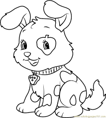 Small Picture Cute Pupcake Coloring Page Free Strawberry Shortcake Coloring