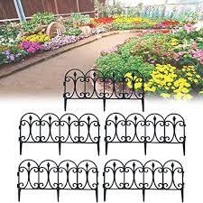 decorative garden fence for