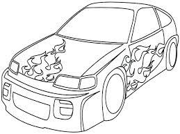 Sports Car Coloring Dksahame