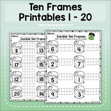 Create gorgeous custom framed prints with your photos at mpix. Ten Frames Printable Worksheets 1 20 Theprekexpress