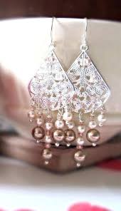 blush chandelier earrings chandelier earrings like this item blush pink chandelier earrings blush chandelier earrings like blush pink chandelier earrings