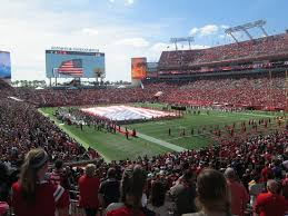 Section 244 Row C Picture Of Raymond James Stadium Tampa