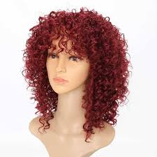 New Fashion Short Synthetic Wigs <b>14inch Short Hair Kinky</b> Curly ...