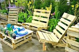 outdoor furniture made from pallets benches out of amazing patio plans