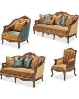 aico living room set. aico furniture, sienna 4-piece living room set