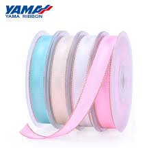 yama 3 16 inch 5mm 250 yards lot yellow gold series wholesale grosgrain ribbon for diy dress accessory house wedding decoration
