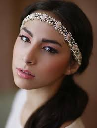 prom makeup ideas 50 inspirational photos from natural makeup rhinestone beaded headband