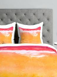 warm bright duvet covers orange king size bedding sets tangerine tie dye nz canada coloured