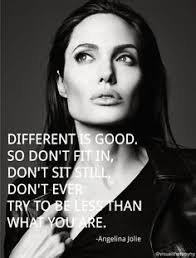 Angelina Jolie Quotes On Beauty Best of Different IS Good Skinny Ms Beautiful Pinterest Angelina
