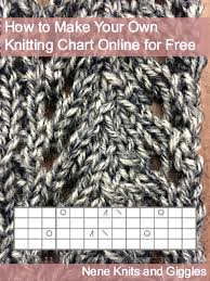 Create Your Own Knitting Chart How To Make Your Own Knitting Chart Online For Free Nene