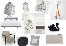 Bedroom Mood Board Black And Silver Mood Board Kiwihome