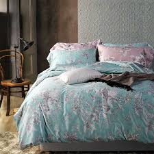 blue luxury bedding sets queen size