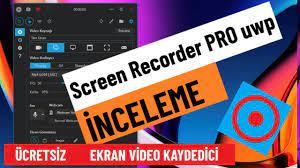 Screen Recorder pro inceleme - Windows 10 için en iyi ekran kaydedici  (ücretsiz) - YouTube