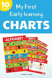 9789389178012 Early Learning Educational Charts For Kids