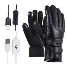 Buy Online <b>Motorcycle Electric Heated Gloves</b> Windproof Cycling ...