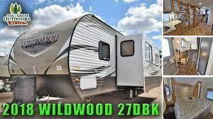 New 2018 Bunk Model WILDWOOD 27DBK Front Bedroom Travel Trailer RV Colorado