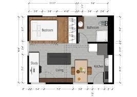Modern Style Small Bedroom Apartment Floor Plans Apartment Floor