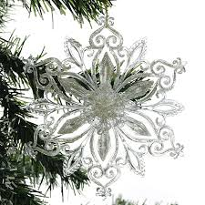 Новогоднее <b>украшение Crystal Deco</b> «<b>Снежинка</b> с глиттером». В ...