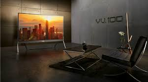 vu, vu tv, 100, 100-inch 4k tv VU 4K HDR smart TV launched in India for Rs 20 Lakh