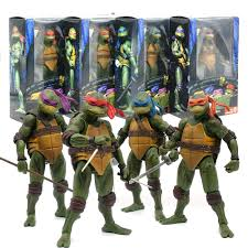 There is going to be a lot more to this but the four players that are turtles are together now. Neca Ninja Turtles 1990 7 Inch Shop Clothing Shoes Online