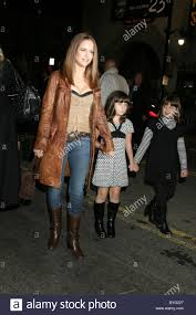Kelly Preston And Daughters High Resolution Stock Photography and Images -  Alamy