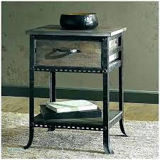 cozy round metal nightstand and glass nightstands bedside table tables black with top