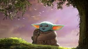 Cute Baby Yoda Computer Wallpaper