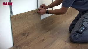 installation instructions for floor on the wall haro laminate english you