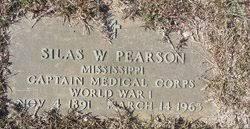 Dr Silas Wesley Pearson (1891-1965) - Find A Grave Memorial