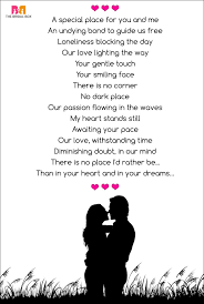 10 beautiful romantic love poems for her