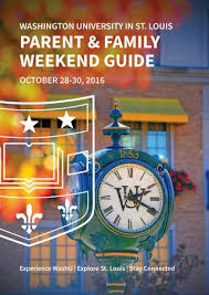 Parent & Family Weekend 2016 By Wu First Year Center - Issuu