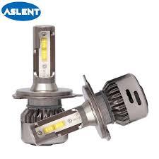 2019 <b>Aslent</b> 2X H4 LED <b>H7 55W</b>/Bulb 20000LM 6500K Canbus ...
