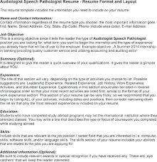 Speech Therapist Cover Letter Sample Speech Pathology Resume Sample ...