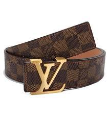 louis vuitton for men. louis vuitton/lv men s initiales damier brown check golden buckle belt vuitton for