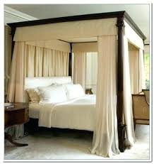 Canopy Bed Curtains King Size With Best Of For Four Poster Beds Sale ...