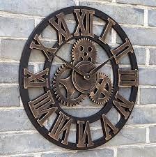 wall clocks gear wall clock