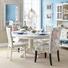 ideas of torrance mahogany brown turned leg dining tables with pier one