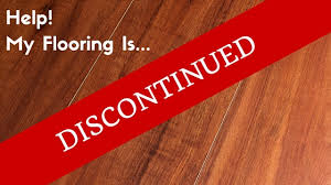 my flooring has been discontinued