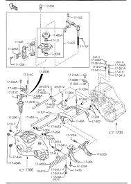 Mazda 3 manual transmission change control system 6 speed 2300cc