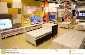 Furniture Home Ikea Modern Shop Store Editorial Stock Image