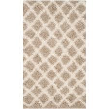safavieh dallas beige ivory 3 ft x 5 ft area rug